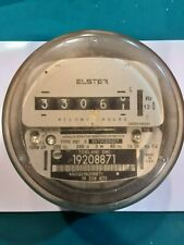Vintage Elster Electric Power Meter Untested Steampunk Art Deco