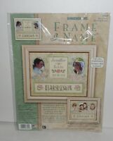 Dimensions Special Day Wedding Record Cross Stitch Kit With Designer Mat