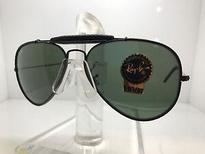 b48418a352 New Ray Ban Sunglasses RB3422Q 9040 58MM BLACK LEATHER GREEN LENS