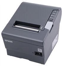 Epson Tm T88v Thermal Receipt Printer Usbethernet Interface Dark Grey