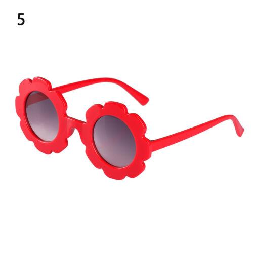 Outdoor Produkt Vintage Sun Brillen Kinder Sonnenbrille Form der Blume Cool