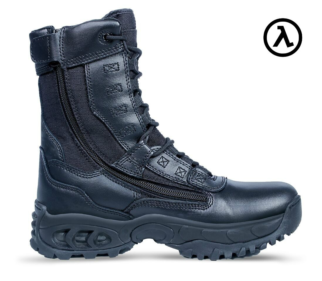 RIDGE AIRTAC GHOST ZIPPER TACTICAL 8  BOOTS 8010  ALL SIZES - M W 4-15