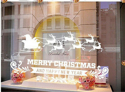 Marry Christmas Home Decor Removable Wall Sticker Decal Decoration Vinyl Mural