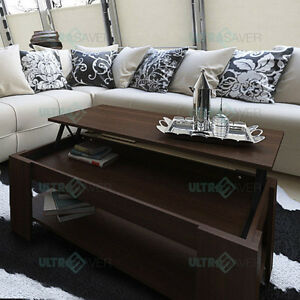 NEW-Modern-Lift-Top-Coffee-Table-Mechanical-Lifting-Convertible-Interior-Storage