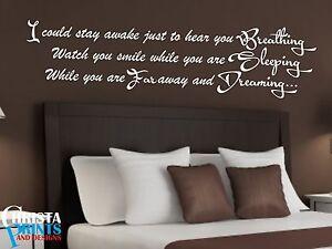 Aerosmith Lyrics Bedroom Wall Art Quote Decor Room Decal Sticker