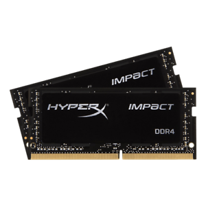 3200MHz DDR4 CL20 260-Pin HX432S20IBK2//32 2x16GB Kingston HyperX Impact 32GB
