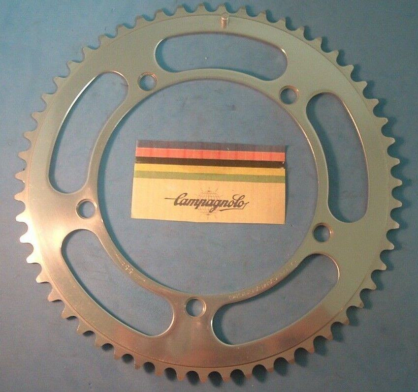 Campagnolo 55Tx144BCD Nuovo Record NEW   NOS Road Chainring Vintage- 1971-73 -EP
