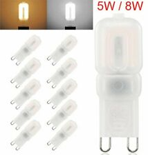 10X Led G9 5W 8W 2835 SMD Dimmable Capsule Bulb Replace Halogen Light Bulb Lamps