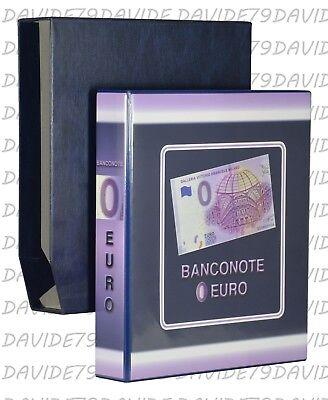 c16e22f50e RACCOGLITORE ALBUM O PAGINE PER COLLEZIONE BANCONOTE 0 EURO TURISTICHE  ITALIA | eBay