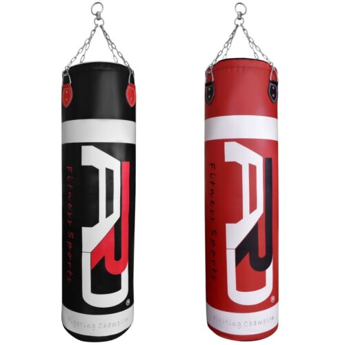 4Fit™ Boxing Punching Bag Mitts Martial Arts MMA Kicking Training Bag Unfilled