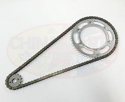 Heavy Duty Chain /& Sprockets Set to fit Lexmoto Venom SK125