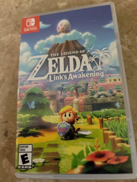 The Legend of Zelda: Link's Awakening (Nintendo Switch, 2019) - Complete w/ case