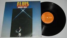 Great Britain Pressing ELVIS PRESLEY Moody Blue LP Record