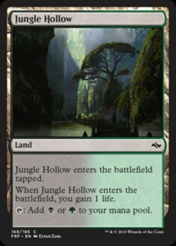 Mint//NM Pack Fresh BOGO FREE! MTG Fate Reforged 4x Jungle Hollow