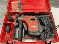 Hilti Te 40 Avr Rotary Hammer Drill Withcase