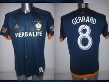 LA Galaxy GERRARD Adult XL Adidas Jersey Soccer Football Liverpool Top Trikot