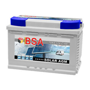 bsa solarbatterie 70ah 12v agm gel usv batterie. Black Bedroom Furniture Sets. Home Design Ideas