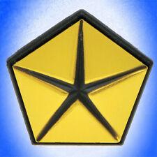 dodge pentastar emblem NOS Mopar Metal Pentastar Medallion Emblem & Electrical Terminals