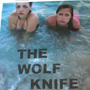 SIGNED-THE-WOLF-KNIFE-MOVIE-POSTER-LAUREL-NAKADATE-CULT-INDIE-CINEMA-RARE