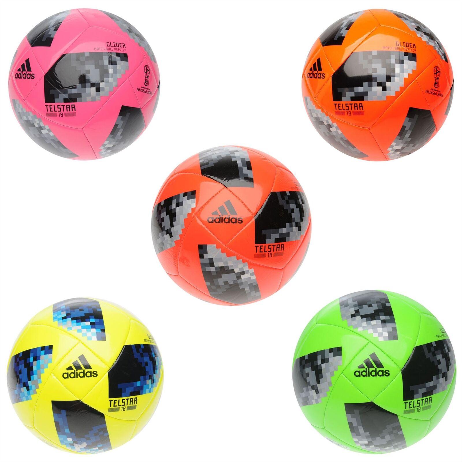 Adidas World Cup Russia 2018 Telstar Glider Football Soccer Ball