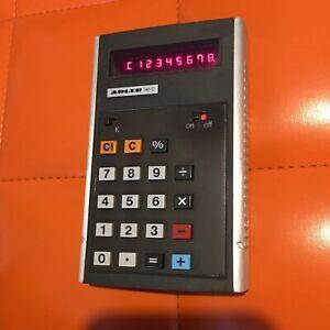 Vintage-Adler-80C-EC21-calculator-Taschenrechner-70er-80er-Digital