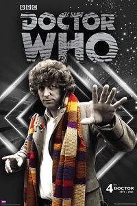 Doctor-who-4th-Doctor-Tom-Baker-1974-1981-POSTER-60x90cm-NEW