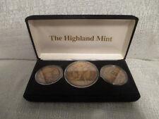 Mark Mcgwire St Louis Cardinals Monumental Highland Mint Bronze 3 Coin Set