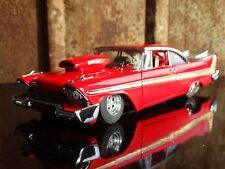Danbury Mint 1958 Plymouth Fury Pro Street 1:24 Scale Die Cast Model Race Car