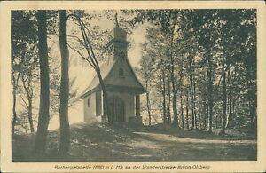 Ansichtskarte-Borberg-Kapelle-an-der-Wanderstrecke-Brillon-Olsberg-Nr-879