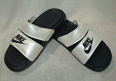 Admisión cable Bigote  Nike Benassi DUO Oil Grey/Pale Ivory Women's Ultra Slides Sandals-Asst  Sizes NWB   eBay