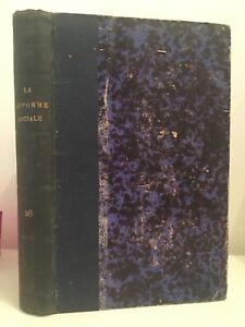 La Riforma Sociale P.F Il Play Volume VI 1888