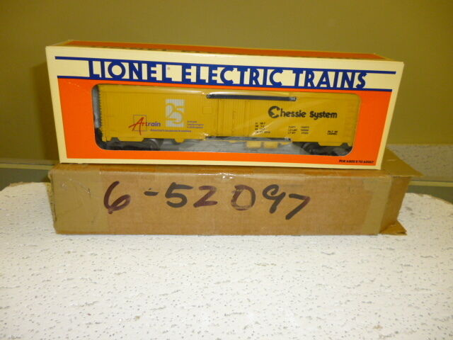 LIONEL 52097 ARTRAIN 25TH ANNIVERSARY REEFER -1995 MINT S5