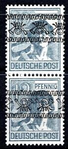 1948 C.R. - PAIR WITH OPT NORMAL + INVERTED  *SCHLEGEL BPP* - MNH** 2 SCANS