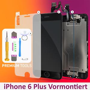 Display-LCD-fuer-iPhone-6-PLUS-VORMONTIERT-RETINA-Glas-Komplett-Touch-SCHWARZ