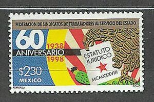 Mexico - Mail 1998 Yvert 1850 MNH