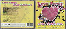 CD LOVE SONGS 1 16T AIR SUPPLY/GOLD/FOUR TOPS/GAYE/REAL NEUF