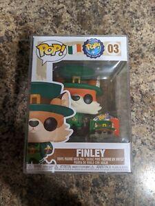 Finley pop around the world funko # 03 nib