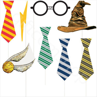 photo about Harry Potter Printable Props known as 8 Harry Potter Occasion Photograph Booth Props Children Birthday Selfie Props Components Decor eBay