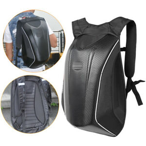 5433e2c8f82a Details about Motorcycle Backpack Carbon Fiber+Nylon Motocross Riding  Racing Storage Bag 18.5