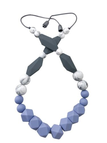 Teething Pain Relief Baby Teething Necklace For Mom; Silicone Teething Beads