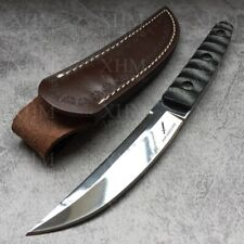 XHM 24.5CM Fixed Blade Knife Tactical Tanto Hunting Camping Bayonet Boot Knives