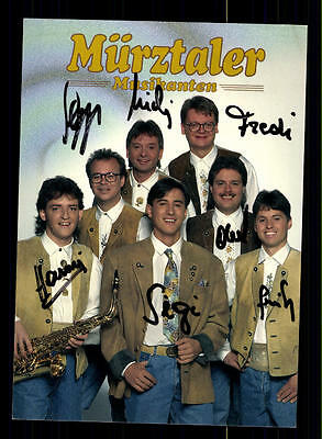 Original, Nicht Zertifiziert Mürztaler Musikanten Autogrammkarte Original Signiert ## Bc 77292 ZuverläSsige Leistung
