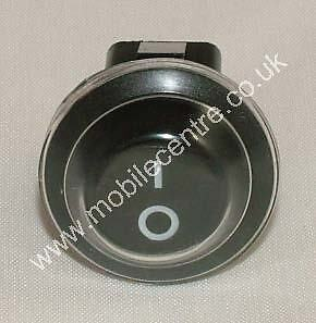 waterproof cover Black round ON OFF rocker switch