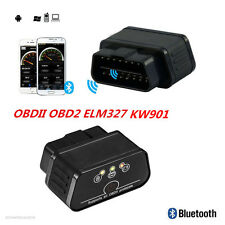 ELM327 OBDII OBD2 KW901 Car Fault Code Reader Bluetooth Diagnostic Scanner Tool