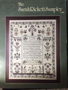 Reproduction-Sampler-Pattern-Cross-My-Heart-Sarah-Rickett-1817-Retired-OOP