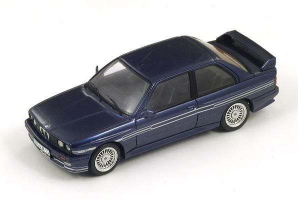 BMW Alpina B6 3.5S (E30)  Dark bluee  1987 1987 1987 (Spark 1 43   S2805) 5df748