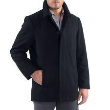 Alpine Swiss Vance Mens Wool Blend Button Up Coat Single Breasted Dress Car Coat