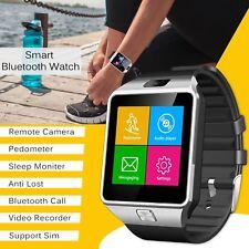 New DZ09 Bluetooth Smart Watch SIM Phone Wristwatch For Samsung iOS Huawei
