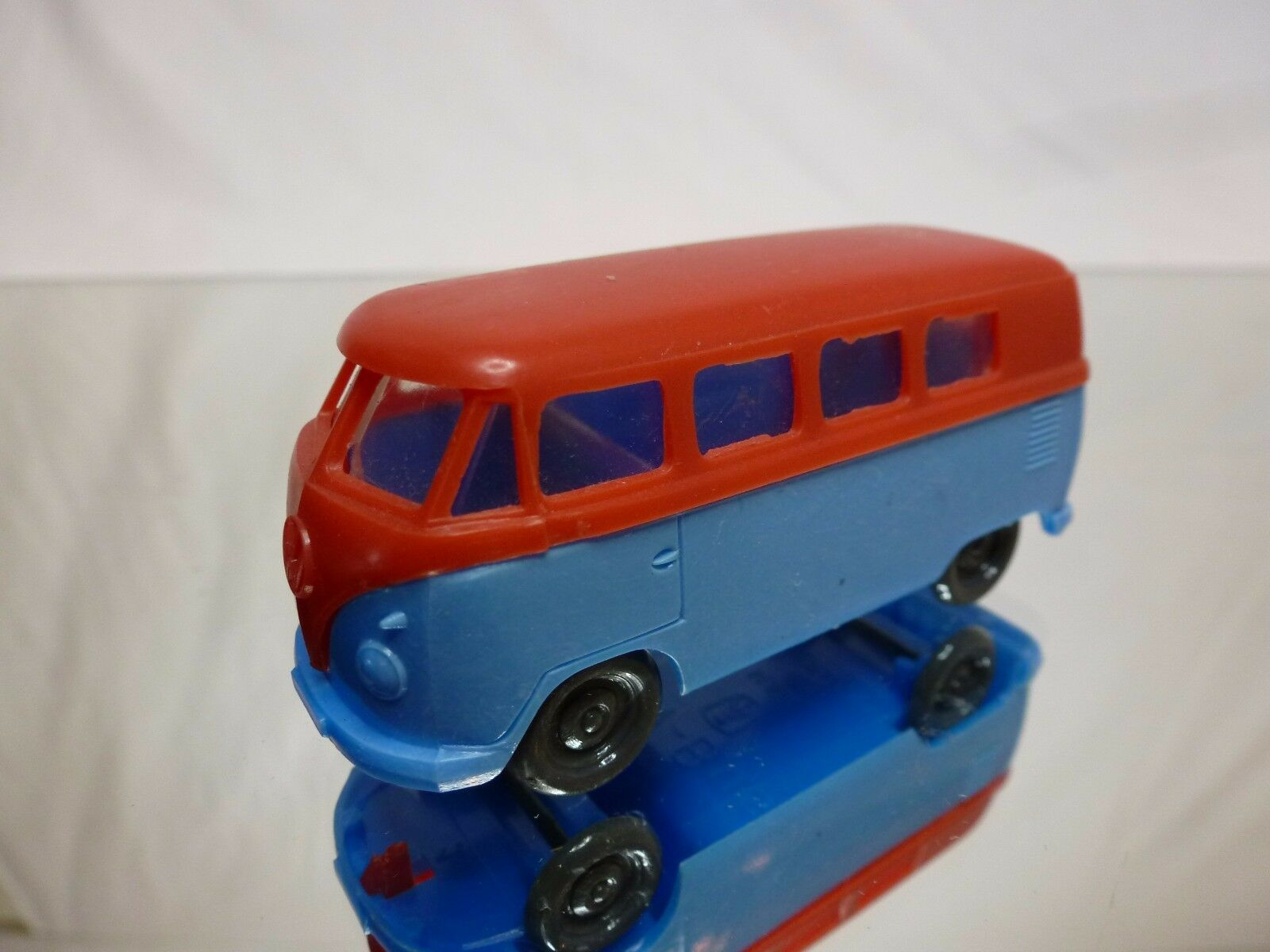 HAMMER GERMANY GERMANY GERMANY VW VOLKSWAGEN T1 BUS - blueE L7.0cm - GOOD CONDITION - PLASTIC 108443
