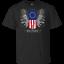 Victory Betsy Ross American Flag Apparel T-Shirt Black-Navy Short for Men-Women